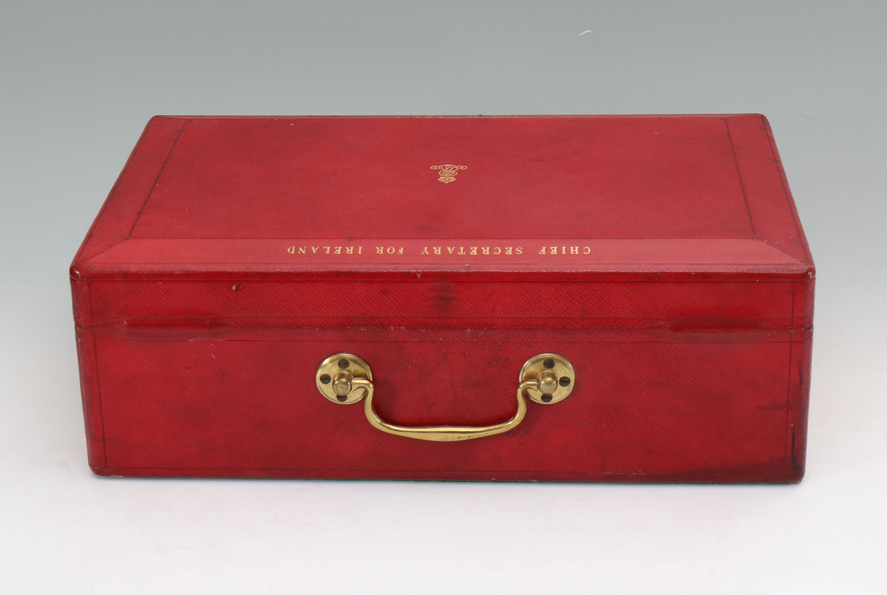 9499 An Edwardian Wickwar Red Leather Bound Parliamentary